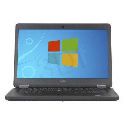 """DELL Latitude 5450 i7-5600U 8GB 14"""" FHD 256GB HD5500 840M Win7P W10P Czarny (C0436283) 3Y NBD"""