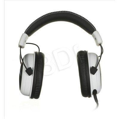Słuchawki wokółuszne z mikrofonem Kingston HyperX Cloud (Biało-czarny)