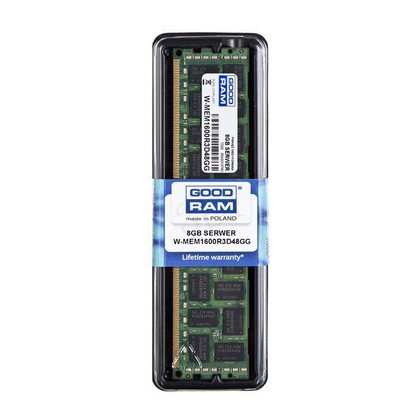 GOODRAM 8GB DDR3 ECC REG 1600MHz W-MEM1600R3D48GG