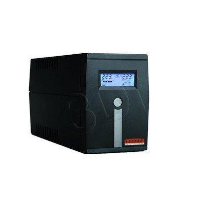 LESTAR UPS MCL-655FFU 600VA/360W AVR LCD 2XFR USB RJ 11