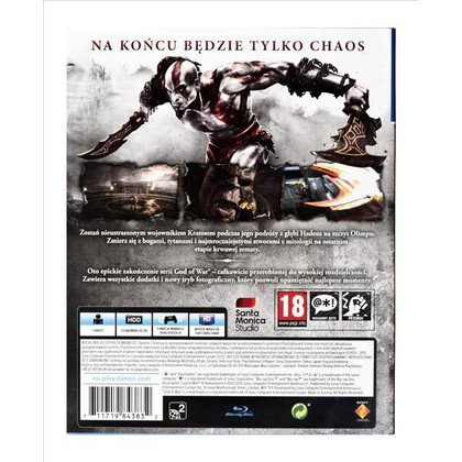 Gra PS4 God of War III Remastered