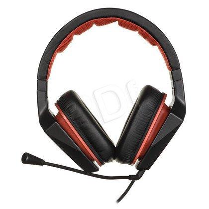 Słuchawki wokółuszne z mikrofonem LENOVO Y (Czarno-czerwony)
