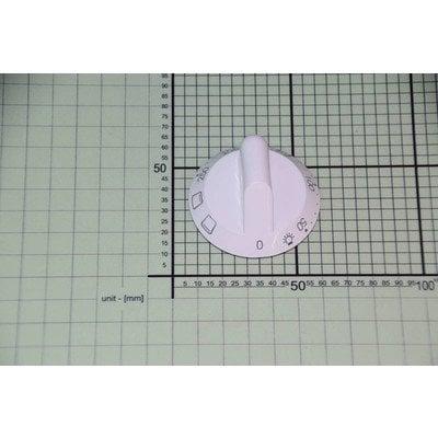 Zespół pokrętła piekarnika białe temperatura 50-250 stopni + 2 funkcje (9001128)