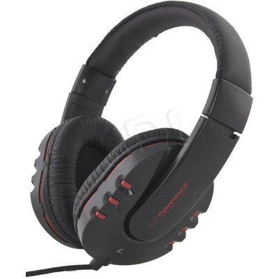 Słuchawki nauszne Esperanza MAUI EH142K (Czarny)