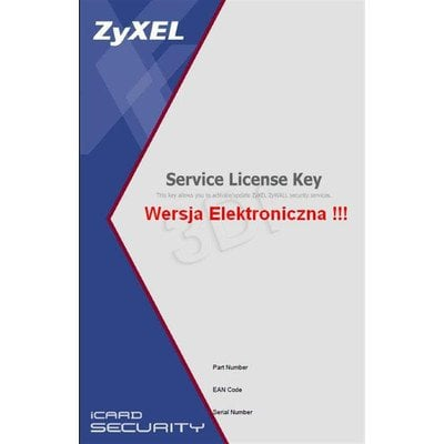 ZyXEL iCard 1-year USG 100 IDP