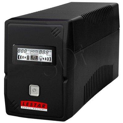 LESTAR UPS V-855 850VA AVR LCD GF 4XIEC USB RJ 11