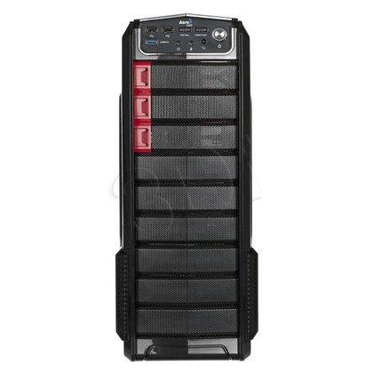 OBUDOWA AEROCOOL GT-A BLACK - USB3.0 - CZARNA