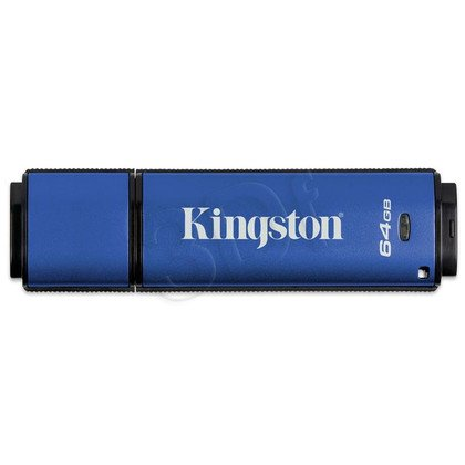 Kingston Flashdrive DataTraveler Vault Privacy 3.0 64GB USB 3.0 Niebieski