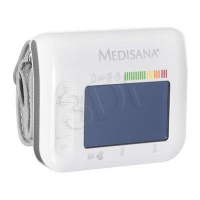 Ciśnieniomierz nadgarstkowy Medisana BW 300 Connect (wskaźnik arytmii, 180 zapamiętań dla 2 użytkowników, mankiet 13,5 - 21,5 cm, łącznośc z IOS i And
