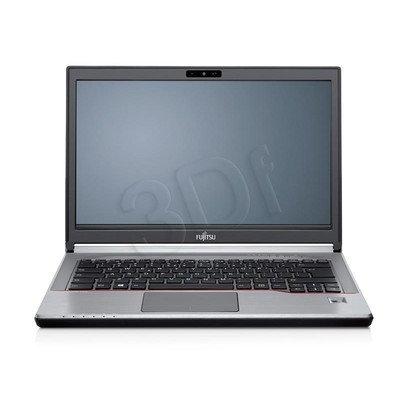 """Fujitsu LIFEBOOK E746 i5-6200U 8GB 14"""" FHD 500+8GB HD 520 3G Win10P Srebrny 2Y"""