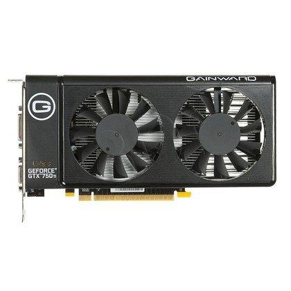 GAINWARD GeForce GTX 750Ti 2048MB DDR5/128bit VGA/DVI/HDMI PCI-E (1281/6008) (wer. OC - Golden Sample)