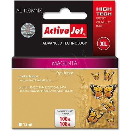 ActiveJet AL-100MNX (AL-100M) tusz Magenta do drukarek Lexmark (zam.14N1070E nr100XL/108XL)