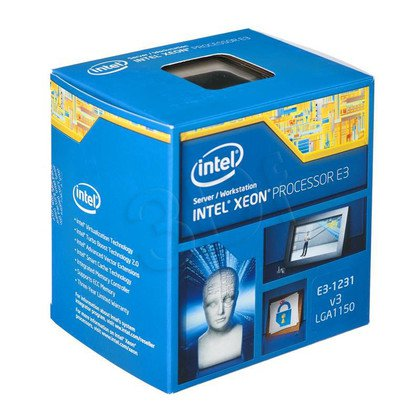 Procesor Intel Xeon E3-1231 v3 3400MHz 1150 Box