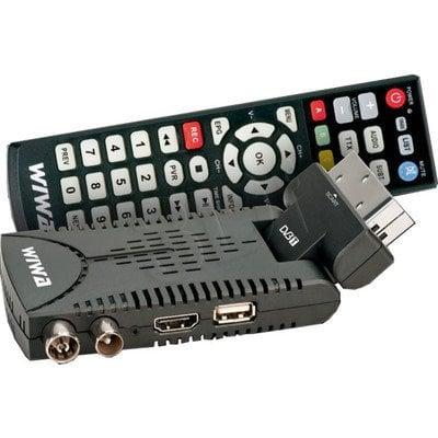 TUNER DVB-T WIWA HD 50 MPEG4 & FULL HD MEDIA PLAYER