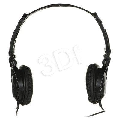 Słuchawki nauszne Panasonic RP-DJS200E-K (Czarny)