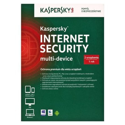Kaspersky Internet Security Multi-Device 2D1Y