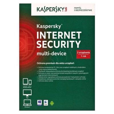 Kaspersky Internet Security Multi-Device 2D1Y
