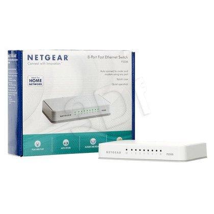 NETGEAR FS208 Switch Fast Ethernet 8-port niezarz.