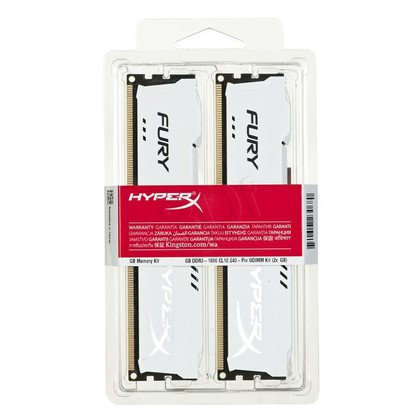 KINGSTON HyperX FURY DDR3 2x4GB 1866MHz HX318C10FK2/8