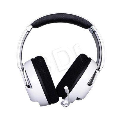 Słuchawki nauszne z mikrofonem FUNC HS-260 (Biało-szary)