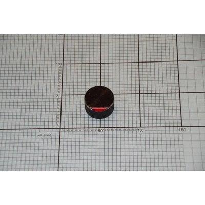 Pokrętło czarne płyty gazowej (1033835)
