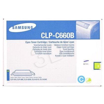 SAMSUNG Toner Niebieski CLPC660B=CLP-C660B, 5000 str.