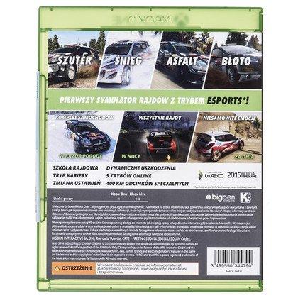 Gra Xbox ONE WRC 5