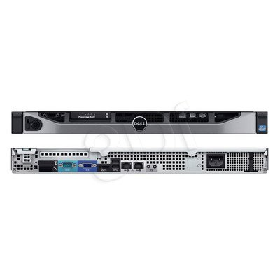 """PE R220 E3-1220v3 4GB 2x1TB SATA 3,5"""""""" DVD 3Y NBD"""