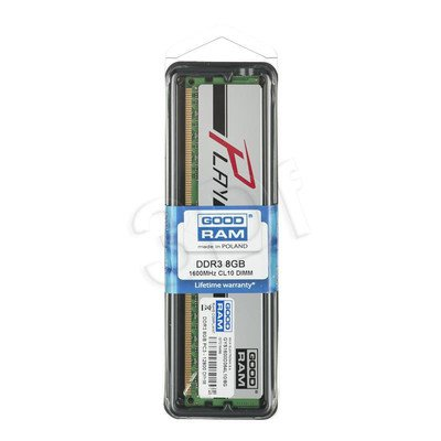 GOODRAM DDR3 PLAY 8192MB PC1600 SILVER CL10