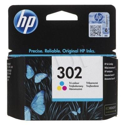 HP Tusz Kolor HP302=F6U65AE, 165 str., 4 ml