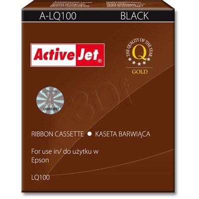 ActiveJet A-LQ100 kaseta barwiąca kolor czarny pasuje do drukarki igłowej Epson (zamiennik S015032)
