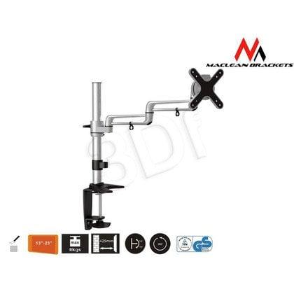 """MACLEAN UCHWYT DO MONITORA BIURKOWY LCD MC-573 13-23"""" 8KG MAX VESA 100X100"""