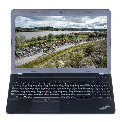 """LENOVO ThinkPad E550 i3-5005U 4GB 15,6"""" HD 500GB HD5500 Win7P W10P Czarny 20DGS0B600 1Y"""