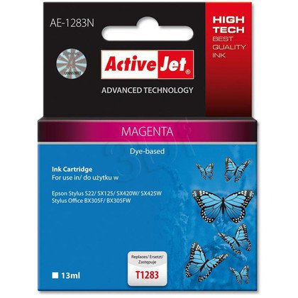 ActiveJet AE-1283N (AE-1283) tusz Magenta pasuje do drukarki Epson (zamiennik T1283)