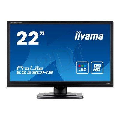 "MONITOR LED IIYAMA 21,5"" PLE2280HS-B1 BLACK HDMI"