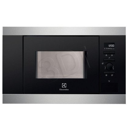 Kuchenka mikrofalowa ELECTROLUX EMS 17006OX (srebrno- czarna)