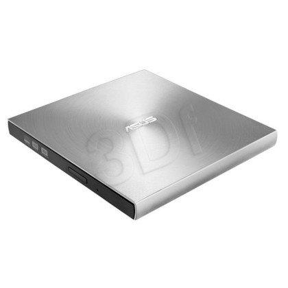 Nagrywarka DVD ASUS ZenDrive U7M USB 2.0 Zewnętrzny Srebrny