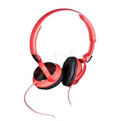 Słuchawki wokółuszne Philips SHL3160RD/00 (Czerwono-czarny)