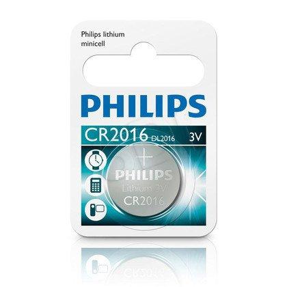 Philips Bateria guzikowa CR2016 blister 1szt.