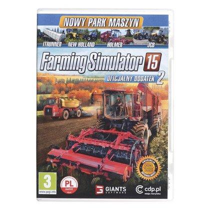 Gra PC Farming Simulator 2015 - Dodatek 2