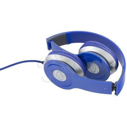 Słuchawki nauszne Esperanza TECHNO (Niebieski)