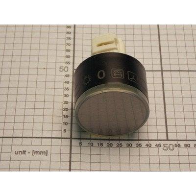 Pokrętło chowane 38A inox nadruk 9600 (9053941)