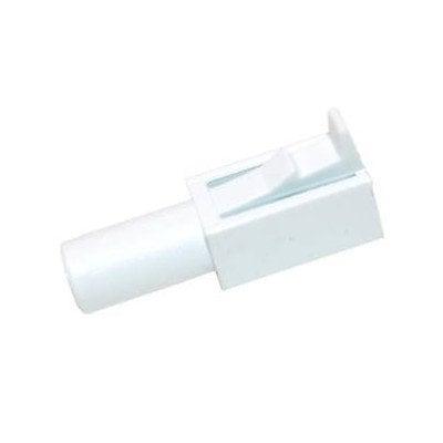 Zawias zatrzaskowy drzwiczek (klapki) zamrażalnika Whirlpool (481240449879)