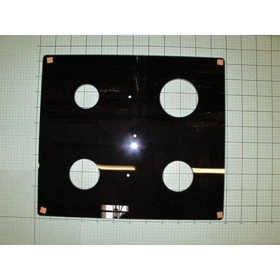 Szyba płyty roboczej 2*GH_2-3 czarna do rusztów żeliwnych (8048424)