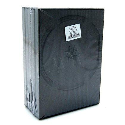 PUDEŁKO NA DVD BLACK 4 DISC 14mm 5szt