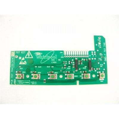 Elementy elektryczne do pralek r Moduł elektroniczny pralki górny z sensorami (481223958039)