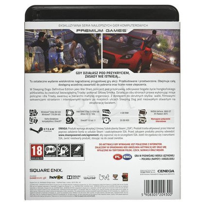 Gra PC NPG Sleeping Dogs Definitive Edition