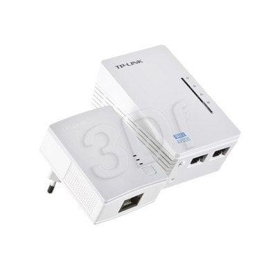TP-Link TL-WPA4220KIT Zestaw transmiterów sieciowych AV500 z punktem dostępowym, 300Mb/s
