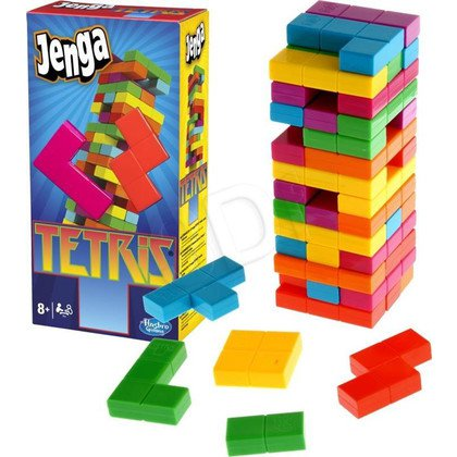 GRA JENGA TETRIS HASBRO A4843