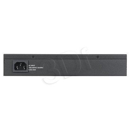 Switch zarządzalny Zyxel GS2210-8HP L2 8x1Gb/s, 2x1Gb/s SFP/RJ45 Zasilanie LAN (PoE)